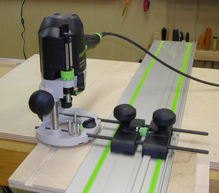 Festool router dados the down to earth woodworker for Router table guide