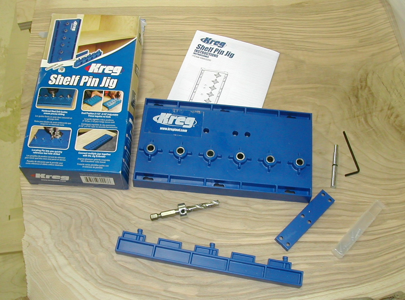 Kreg Shelf Pin Drilling Jig | The Down To Earth Woodworker