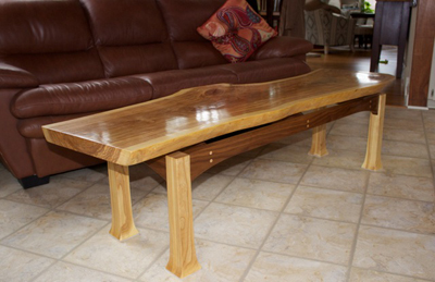 coffee table woodworking project the down to earth