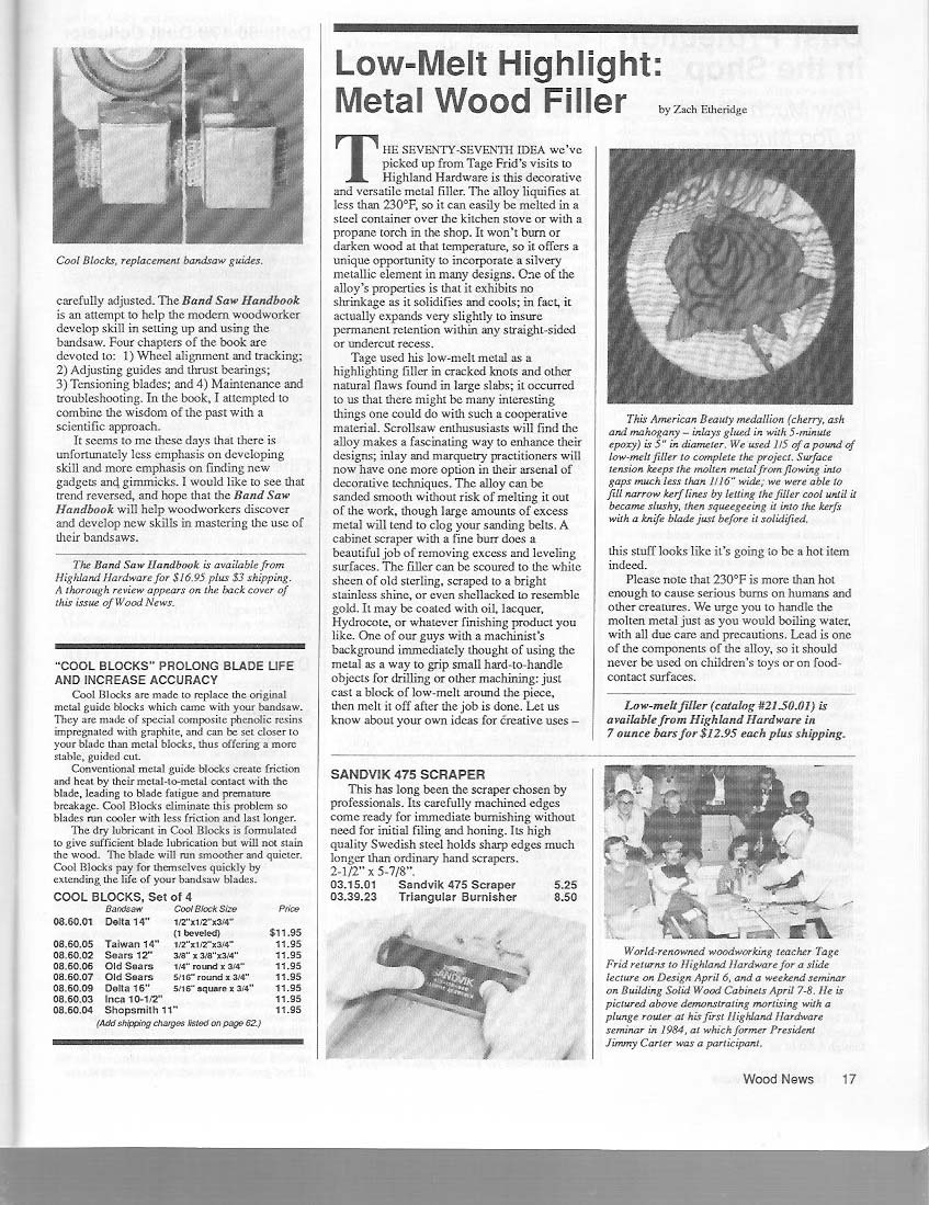Wood News Archive Gallery