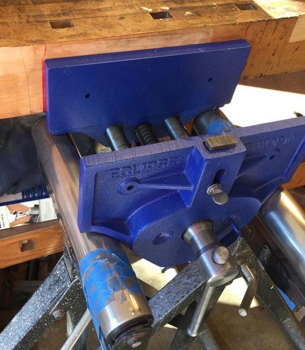 Installing My Eclipse Bench Vise Forrest Bonner