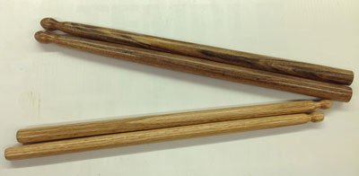 Turning Drumsticks