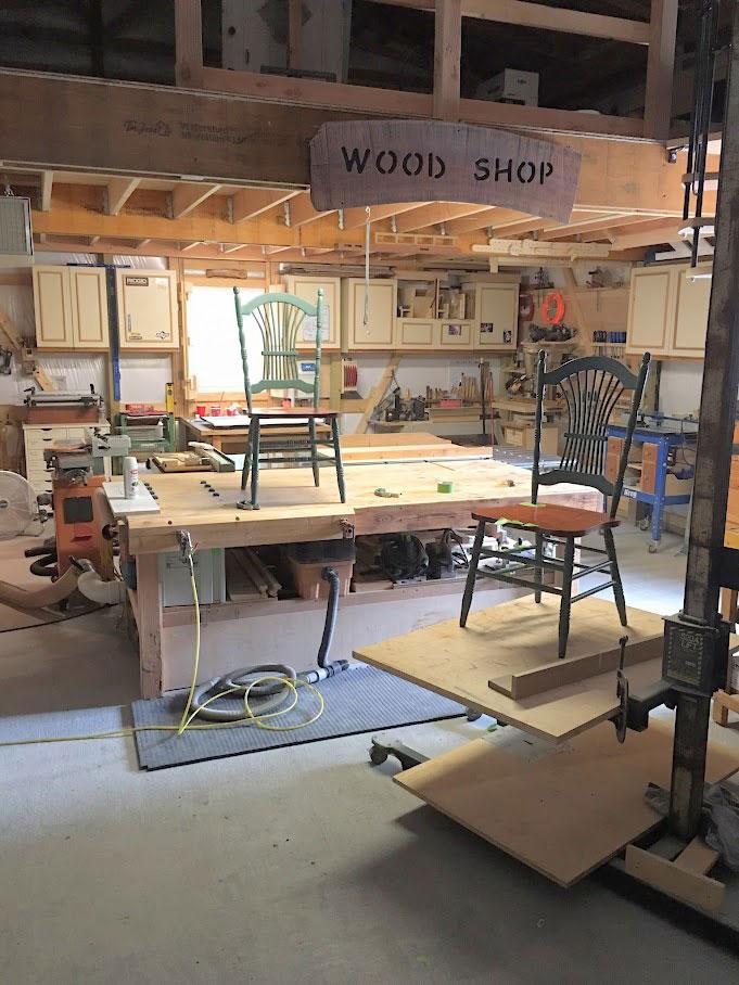 Mark & Rachel Mysliborski | Woodworking Workshop
